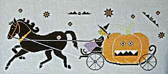 Click for more details of Halloween Cinderella (cross stitch) by Madame Chantilly