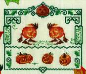 Click for more details of Halloween (cross stitch) by Nimue Fee Main