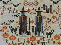 Click for more details of Halloween Spookies (cross stitch) by Riverdrift House