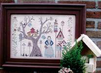 Click for more details of Hannah and her Birds (cross stitch) by Thistles