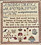 Click for more details of Hannah Clark 1837 (cross stitch) by Hands to Work