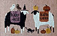 Click for more details of Happiest Halloween (cross stitch) by Thistles