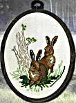 Click for more details of Hares (cross stitch) by Permin of Copenhagen