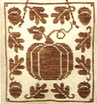 Click for more details of Harvest Blessings (cross-stitch pattern) by Waxing Moon Designs