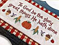 Click for more details of Harvest Glory (cross stitch) by Sweet Wing Studio