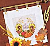 Click for more details of Harvest Wreath (cross stitch) by Stoney Creek