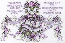 Click for more details of Hearts in Harmony (cross stitch) by Stoney Creek