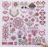 Click for more details of Hearts of the Kingdom (cross stitch) by Rosewood Manor
