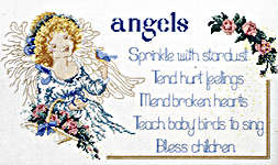 Click for more details of Heaven's Helpers (cross-stitch pattern) by Sam Hawkins