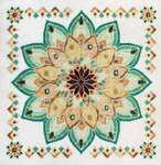 Click for more details of Helianthus The Sunflower Mandala (cross stitch) by Glendon Place