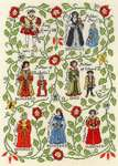 Click for more details of Henry VIII (cross stitch) by Bothy Threads
