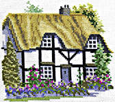 Click for more details of Herefordshire Cottage (cross stitch) by Rose Swalwell