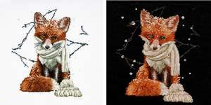 Click for more details of Hey There Foxy Lady (cross stitch) by Thea Gouverneur