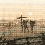 Click for more details of Hikers (cross stitch) by Phil Smith