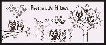 Click for more details of Histoire de Hiboux (Story of Owls) (cross stitch) by Princesse