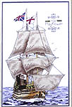 Click for more details of Historic Tall Ships (cross stitch) by Stoney Creek