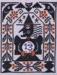 Click for more details of Hocus Pocus (cross stitch) by The Prairie Schooler