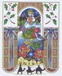 Click for more details of Holiday Heaven (cross stitch) by Mike Vickery
