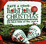 Click for more details of Holly Jolly Christmas (cross stitch) by Erica Michaels
