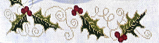 Click for more details of Holly Table Settings (cross stitch) by Stoney Creek
