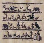 Click for more details of Home Coming Sampler (cross-stitch pattern) by The Sampler House