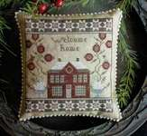 Click for more details of Home For Christmas (cross stitch) by Plum Street Samplers