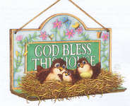 Click for more details of Home Sweet Home (cross-stitch pattern) by Heaven and Earth Designs