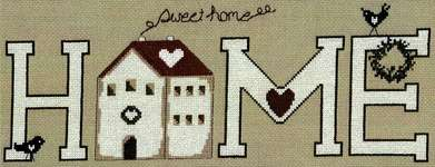 Click for more details of Home Sweet Home (cross stitch) by Imaginating