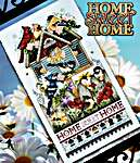 Click for more details of Home Sweet Home (cross stitch) by Stoney Creek
