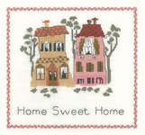 Click for more details of Home Sweet Home (cross stitch) by Zweigart Fabrics