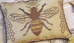 Click for more details of Honeybee Hill (cross-stitch pattern) by Blackbird Designs