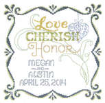 Click for more details of Honoring Marriage (cross stitch) by Imaginating