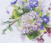 Click for more details of Hortensia (cross stitch) by Lanarte