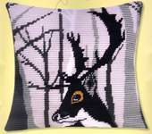 Click for more details of Hugo Cushion Front (tapestry) by Vervaco