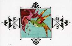 Click for more details of Hummingbird (cross stitch) by Nora Corbett