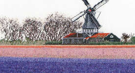 Click for more details of Hyacinth Fields (cross stitch) by Thea Gouverneur