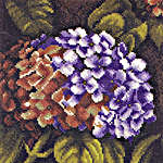 Click for more details of Hydrangea Bush (cross-stitch kit) by Lanarte
