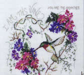 Click for more details of I am the Vine  (cross stitch) by Stoney Creek