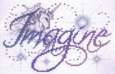 Click for more details of Imagine (cross stitch) by Design Works