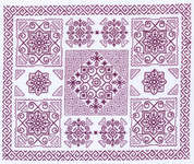 Click for more details of Italian Garden (blackwork) by Classic Embroidery