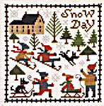 Click for more details of January (cross stitch) by The Prairie Schooler