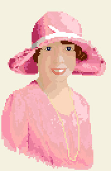 Click for more details of Jennie, Adelaide, 1929 (cross stitch) by Anne Peden