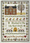 Click for more details of Joy in the Journey (cross stitch) by Janlynn