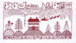 Click for more details of Joyeux Noel (cross stitch) by Jardin Prive