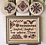 Click for more details of Joyful Joyful (cross stitch) by Heartstring Samplery