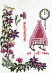 Click for more details of July Birth Record (cross-stitch kit) by Thea Gouverneur