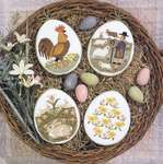 Click for more details of Just Hatched (cross stitch) by The Prairie Schooler