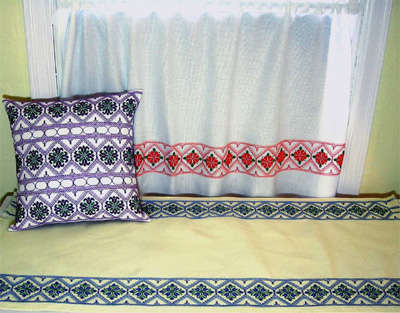 Click for more details of Kate's Garden (swedish weaving) by Swedish Weave Designs