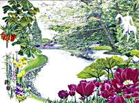 Click for more details of Keukenhof (cross stitch) by Thea Gouverneur