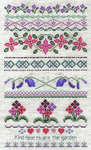 Click for more details of Kind Hearts (cross stitch) by Classic Embroidery